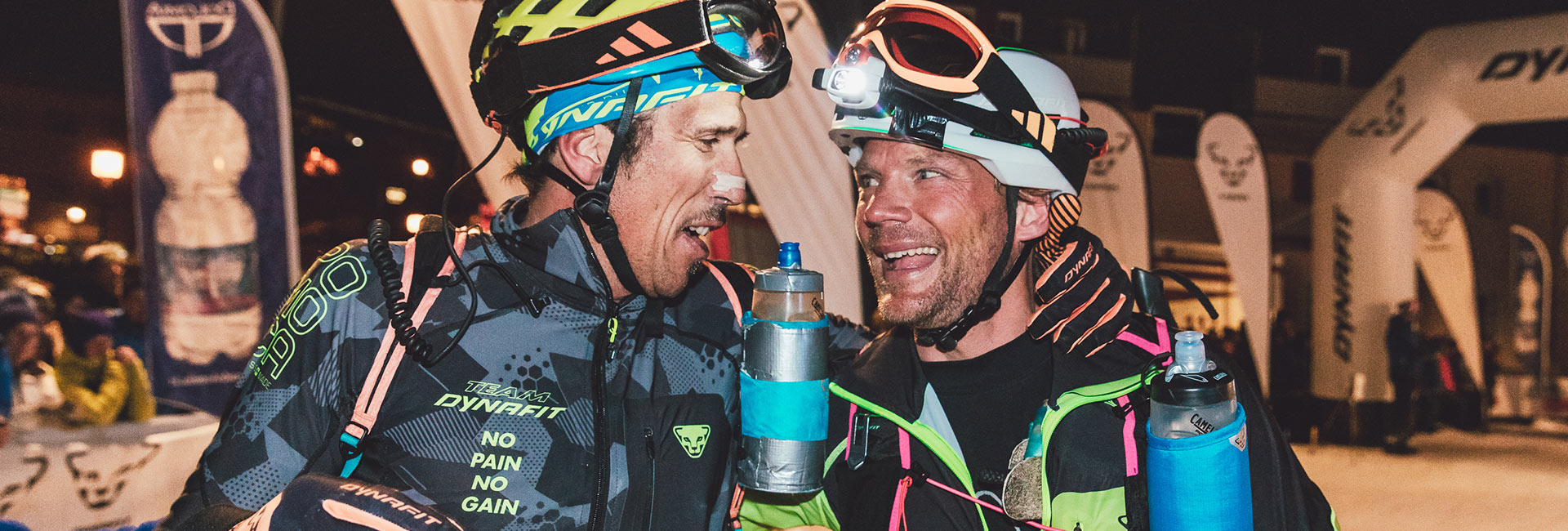 Sellaronda: finish line